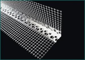 Narożnik aluminiowy z siatką